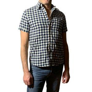 Joe Fresh Men's Short Sleeved Button-Down Size M